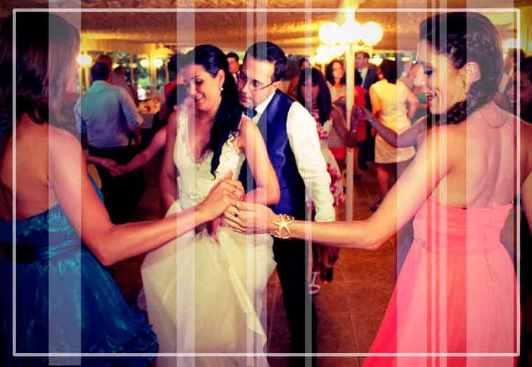 eventos para bodas a cargo de discjockey especializado